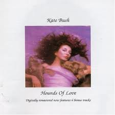 photo jaquette recto album Hounds of Love de Kate Bush et traduction de chansons