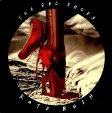 photo jaquette recto album the red shoes de kate bush